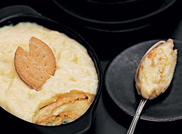 Receita de Nicolau Rosa, da Escola de Culinária e Gastronomia Nicolau Rosa