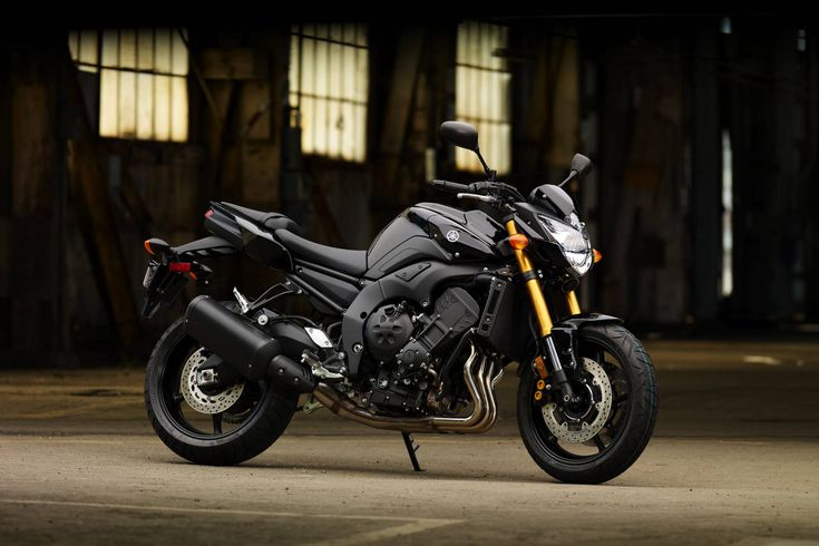 There's just something about this bike. Yamaha FZ-8