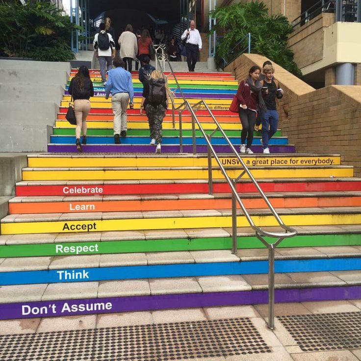 Inclusive idea. University of New South Wales in Sydney, Australia