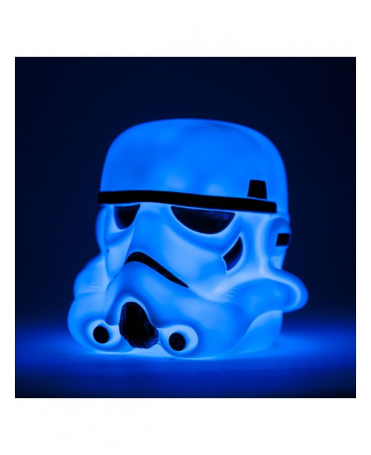 This awesome Stormtrooper illumi-mate Colour Changing Light is the ideal finishing touch for a Star Wars themed bedroom or man cave.