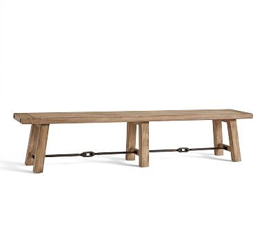 Benchwright Dining Bench Seadrift 86 Quot L X 16 Quot W In 2019