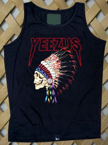 Yeezus t shirt yeezus indian skeleton yeezus tour tshirt kanye west only 14.9$ rate shipping 9.9$ secured payment using paypal www.payunan.comYeezus1 of 1.T shirt
