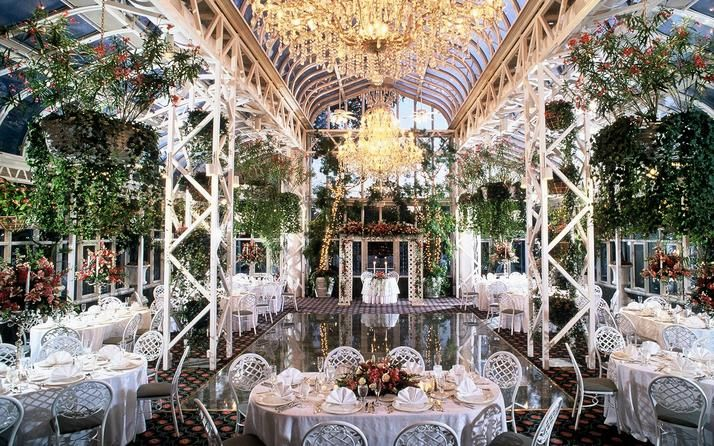 The Madison Hotel, Morristown, NJ.  The best place to have an indoor wedding that feels like being outdoors!