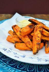 Paprika Spiced Sweet Potato Fries