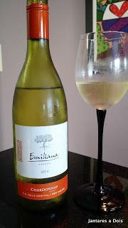Vinho Chardonnay Emiliana | Jantares a Dois