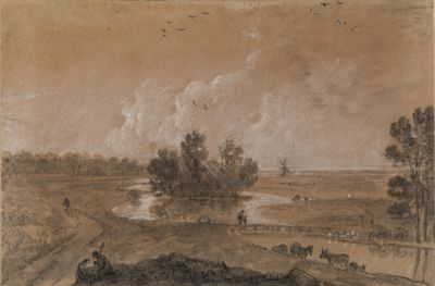 Richard Wilson - A View of Hounslow Heath, London
