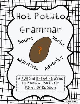 Hot Potato Grammar Freebie: parts of speech game