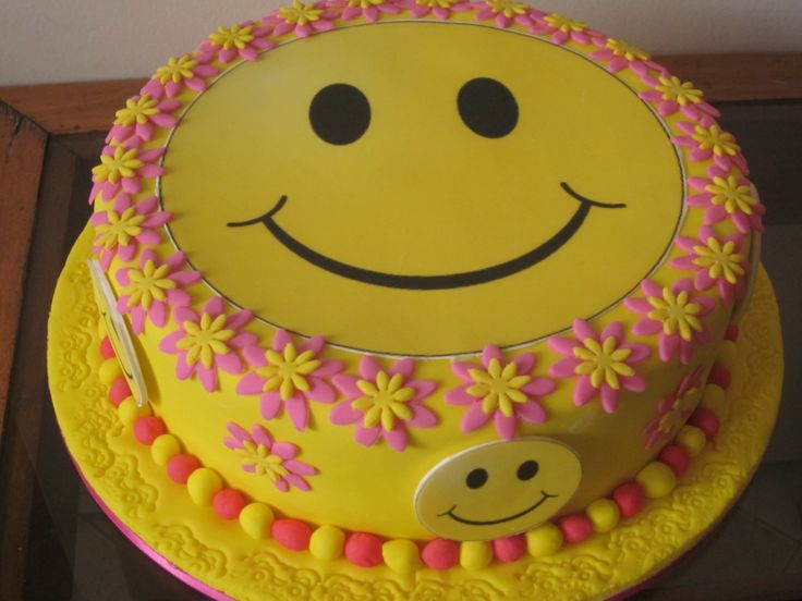 cakes happy face