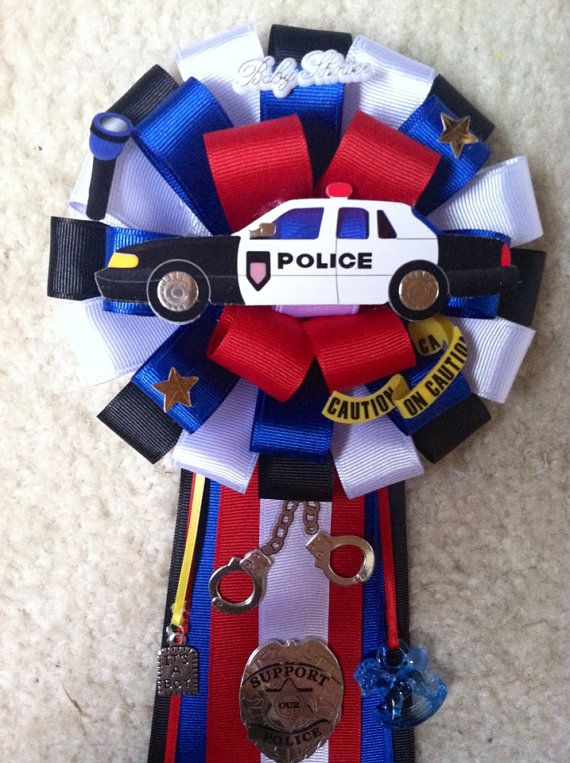 Police theme baby shower mum on Etsy, $25.00 | Modern Mums ...