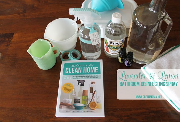 Here's a great recipe for a safe and effective bathroom disinfecting spray. It smells clean and will get rid of germs in a hurry! (Go to this post to see my favorite products to DIY your cleaners.) Today I'm sharing the recipe for Lavender and Lemon Bathroom Disinfecting Spray from The Organically Clean Home –... (read more...)
