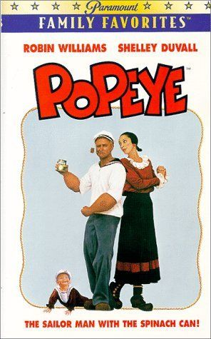 """POPEYE""  (1980) ROBIN WILLIAMS, SHELLEY DUVALL, RAY WALSTON"
