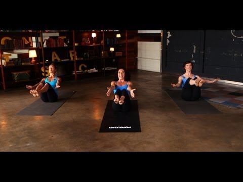 Take a tip from Jennifer Aniston's trainer Mandy Ingber and mix yoga poses with classic strength-training moves to maximize your burn. This 10-minute workout...