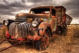 Rusty Trucks by Timothy Price