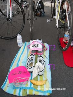 What is a transition area? #triathlon