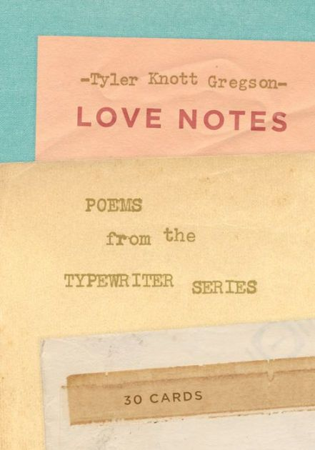 From Tyler Knott Gregson, author of the national bestseller Chasers of the Light and creator of the Typewriter Series, this book contains 30 beautiful...