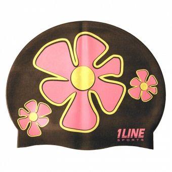 bonnet de bain flower