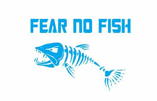 1000 images about cool decals on pinterest for Fear no fish