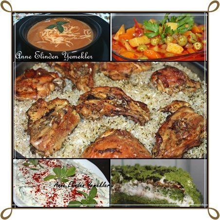 Merhabalar, Her yıl olduğu gibi bu yılda size iftar için menüler sunacağım. Umarım tariflerimi beğenirsiniz. Yorumlarınızı bekliyorum. He...