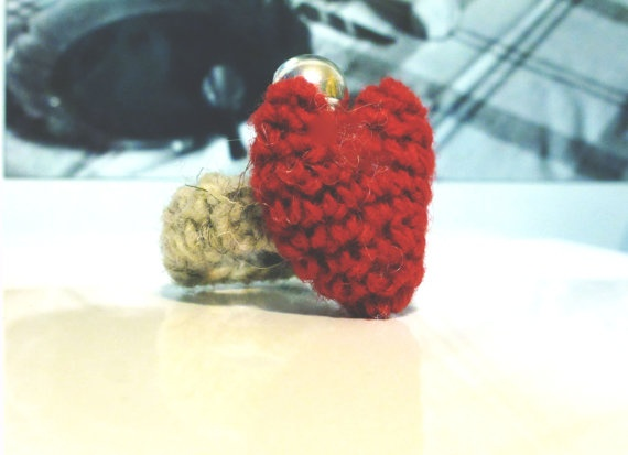 the Ring Special Valentine by yorokobiness on Etsy, €15.00