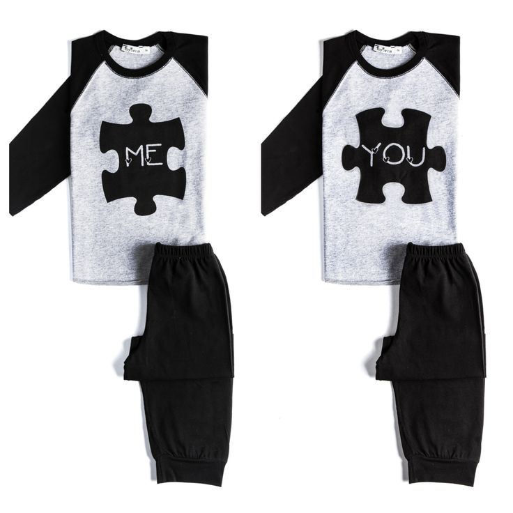 twin set of nightwear, me & you. In my twins collection.