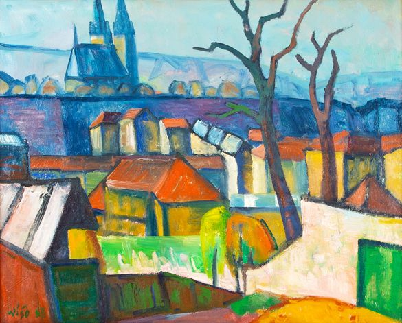 Jaromír Wíšo - Vyšehrad (1963)
