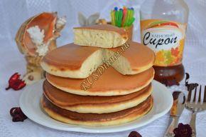 Панкейки - американские блинчики - Пошаговый рецепт с фото, как приготовить?