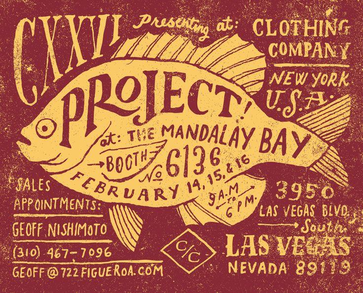 Jon Contino: Vintage Posters, Mandalay Bays, Hands Drawn Typography, Jon Contino, Handdrawn, Hands Types, Hands Letters, Types Design, Graphics Design