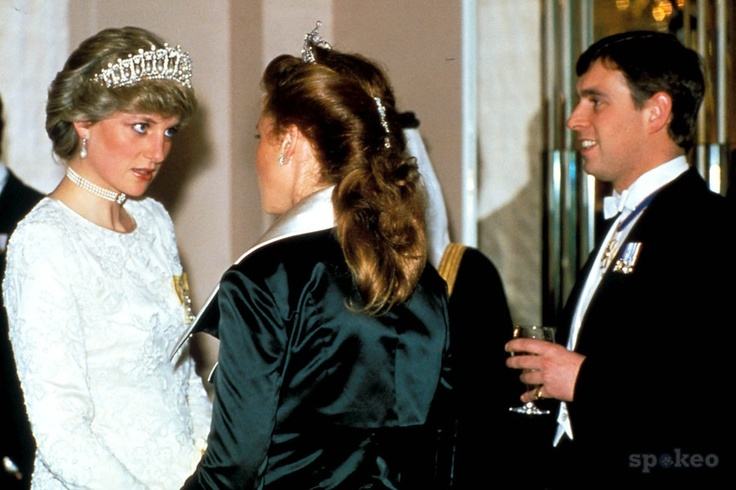 Andrew and Fergie Princess diana tiara, Lady diana