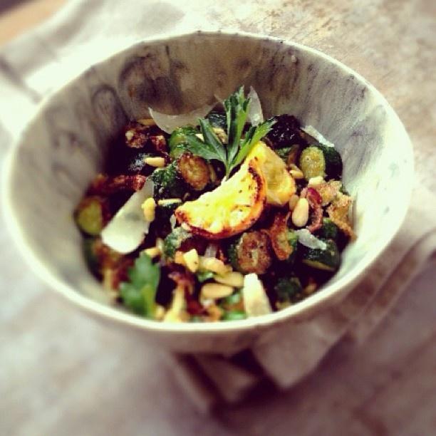 zucchini fritti, lemon and parmesan salad |familystylefood|recipe