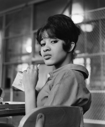 Ronnie Spector during her senior year of high school before the Ronettes became famous 1961