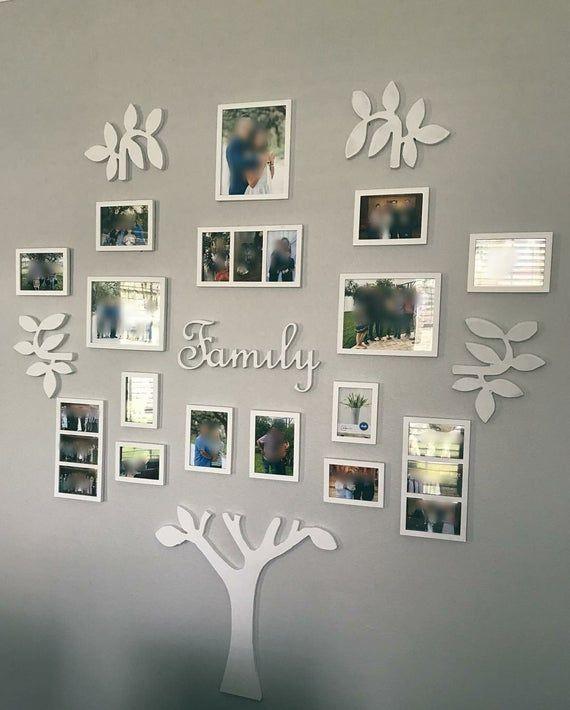 Family Tree Wall Decor Wanddekoration Wohnzimmer Zuhause