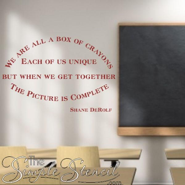 Best Classroom And School Wall Quotes  Lettering Decals Images - Custom vinyl wall decals sayings for office