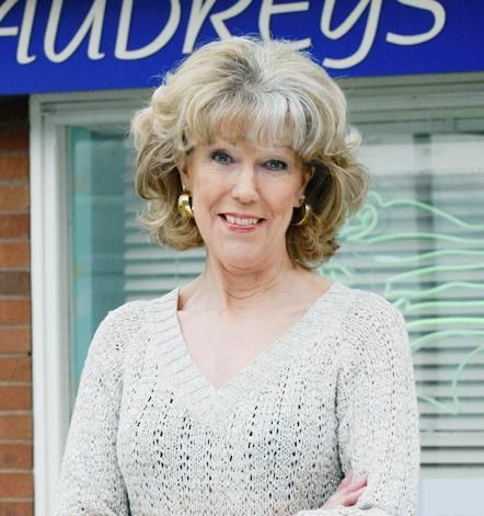 Nov. 24 - It's the lovely Sue Nicholls' birthday today! Audrey is the best!
