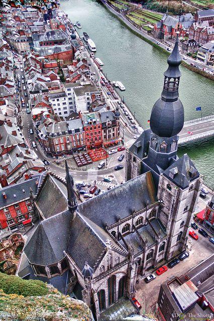 The Collegiate Church of Notre-Dame, Dinant, Belgium