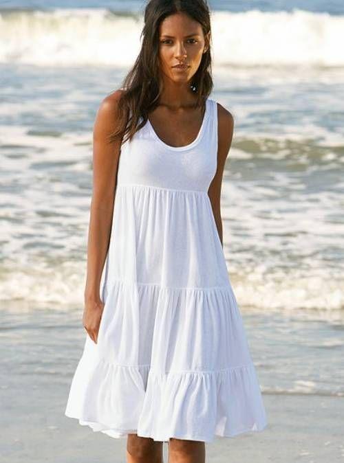 white beach dress  — #Health. Brought to you by SunGoddess Magazine: Igniting the Powerful Goddess WIthin http://sungoddessmagazine.com