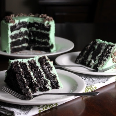 Andes Mint Chocolate Cake @amandamccellan .... I think we should try this one ...@katiebolar and I will be your tasters ... Lol :)