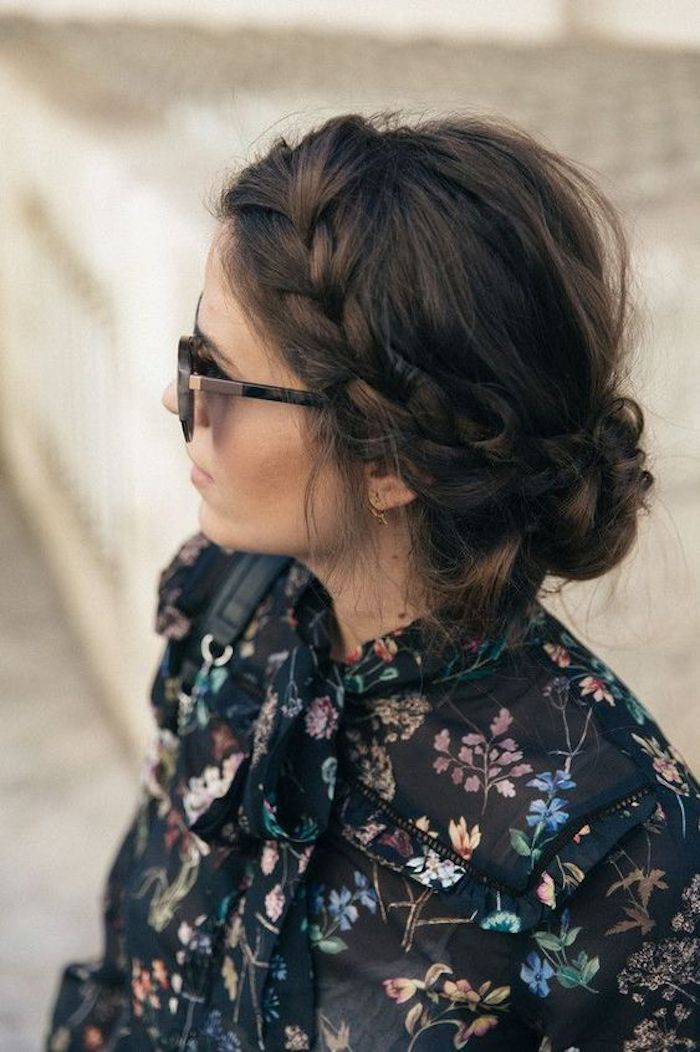 34 beautiful braided wedding hairstyles for the modern bride - TANIA MARAS | bespoke wedding headpieces + wedding veils