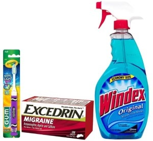 Publix: FREE Gum Toothbrushes, Cheap Windex & Excedrin! ~