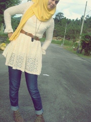 Image result for Hijab And Jeans