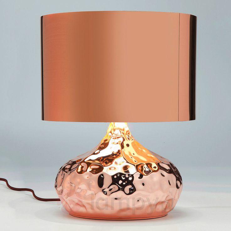 Lampa stołowa RUMBLE COPPER, 38 cm 5517344