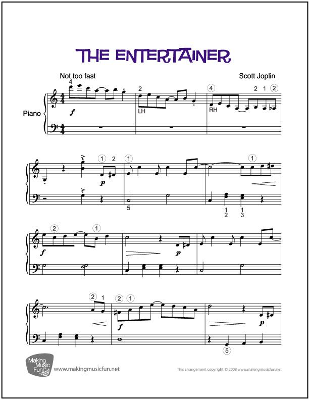 How to write a paper on the piano difficulties in a music piece?