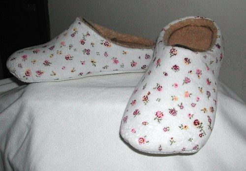 Free Fleece Slipper Pattern | Free Slipper Sewing Patterns and Slipper Pattern Resources
