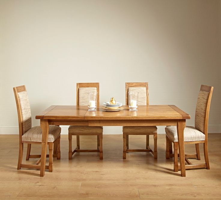 Chatsworth Extending Dining Table   Extended (models Table U0026 Dining Chair)  Stately Oak Dining Table Set For Your Living Or Dining Room From Wood Bros  ...