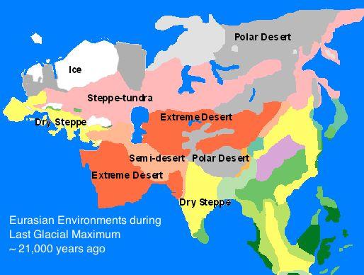 ice age eurasian climate