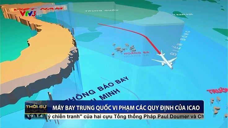 Trung quốc thực hiện trái phép 46 chuyến bay vào vùng không lưu do Việt ...