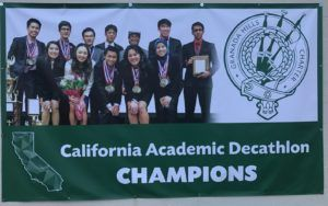Does Granada Hills Charter High School's Academic Decathlon winning streak have anything to do with their questionable enrollment policies?  http://thewire.k12newsnetwork.com/2017/04/19/stacking-the-deck/