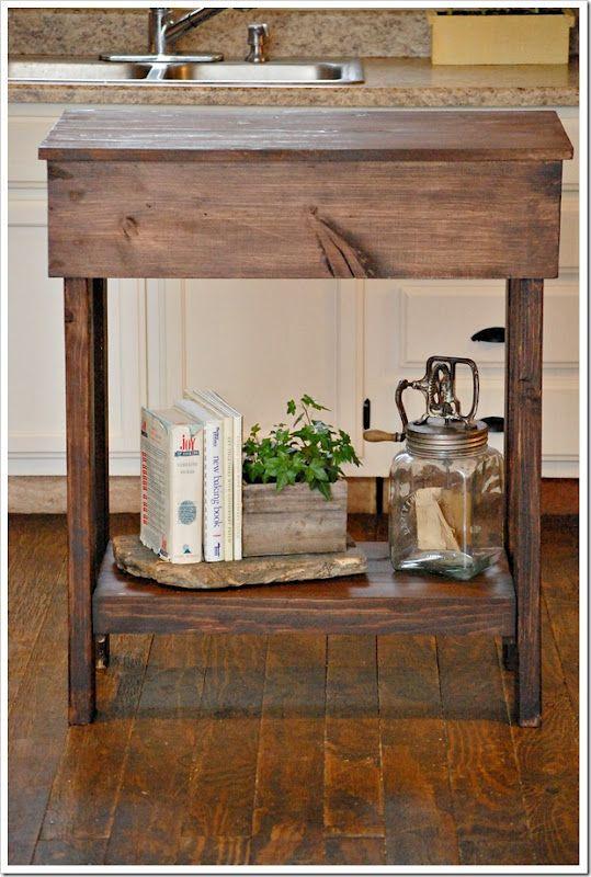 DIY: Kitchen Island  Free DIY Woodwork Plans  Pinterest