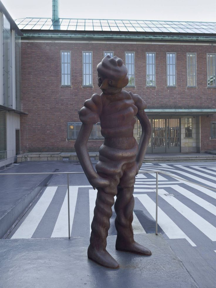 Grosse Geister (Figur Nr. 8) - Thomas Schütte, 1998 | Collection Boijmans