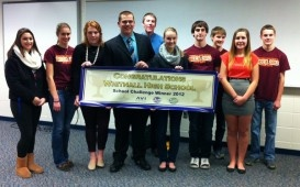 Whitnall DECA Club Steps Up for Hunger Task Force - Greenfield, WI Patch