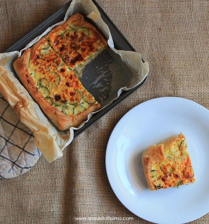"""""""Quasi Quiche"""": con pancetta, zucchine e Parmigiano Reggiano (senza glutine) http://www.spadellatissima.com/2014/06/quasi-quiche-con-pancetta-zucchine-e.html"""